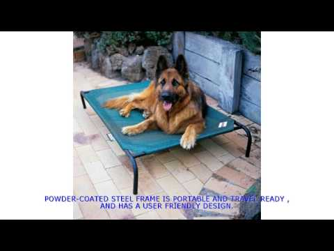 coolaroo-dog-bed-|-outdoor-dog-bed|-best-outdoor-dog-bed