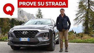La prova della Hyundai Santa Fe: una coreana quasi tedesca?