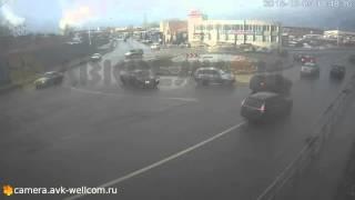 Происшествие, г. Дзержинский, около кругового перекрёстка на улице Угрешская, 05.12.2015