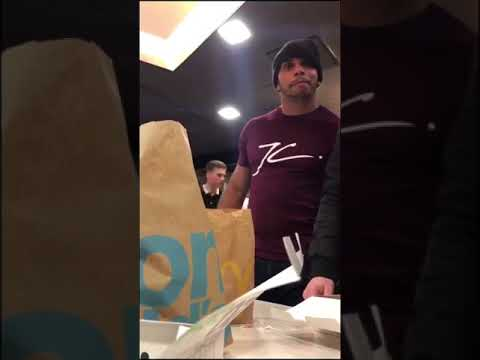 Hull FC 's Albert Kelly drunk and abusive in McDonalds