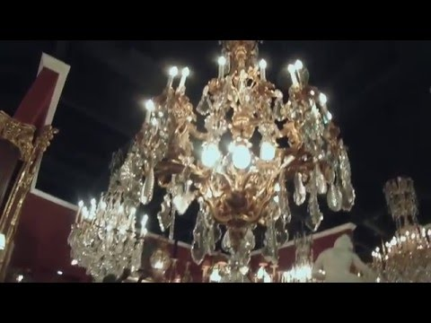 Jan's & Company Fine French Antiques, Inc. Showroom 4/26/16 Part 1 of 2