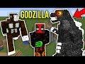 Minecraft GODZILLA MODU (King Kong,Üç Başlı Ejderha) - En Büyük Yaratıklar Modu