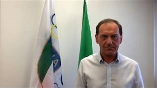 Stefano Gnesato presenta la festa nazionale dello sport 2018