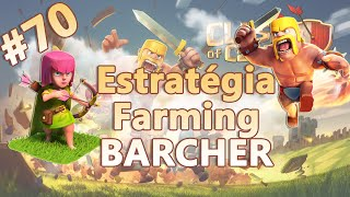 Clash of Clans HD Parte 70  - Centro de Vila 5 (CV5): Estratégia de Farming BARCHER