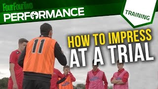 How to impress scouts at a football trial | Gus Poyet Pro Tips