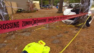 Download Neighbors Complain Some of These Gory Halloween Decorations Go Too Far Mp3 and Videos