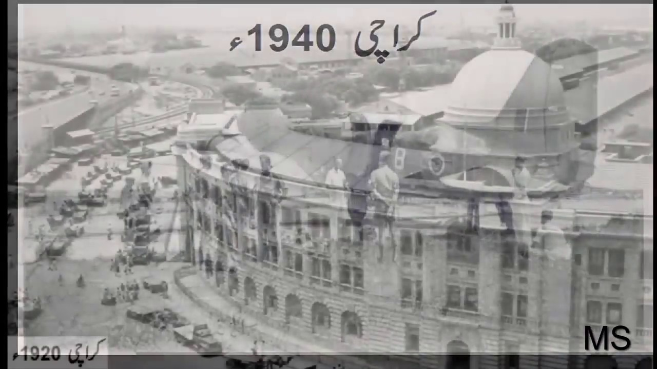 karachi city from 1800 to 2018