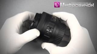 Видеообзор Nikon AF-S 35mm f 1.8G DX