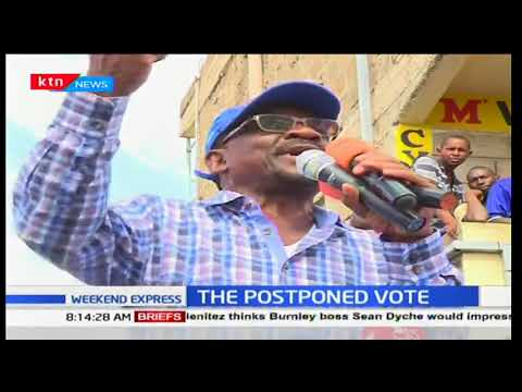 Senator James Orengo disputes President Uhuru Kenyatta's October 26th win