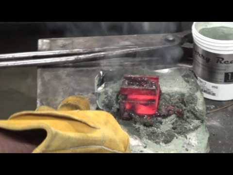 Case Hardening Mild Steel with Mr  Riggs