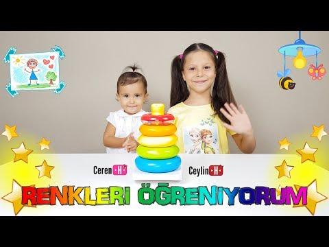 """Ceylin-H   """" Renkleri Öğreniyorum """" Çocuk Şarkısı - Learn Colors With Finger Family Song"""