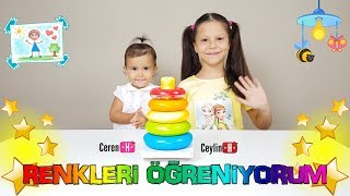 ceylin h renkleri reniyorum ocuk arks learn colors with finger family song