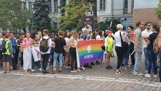 Марша равенства в Киеве. Прямая трансляция