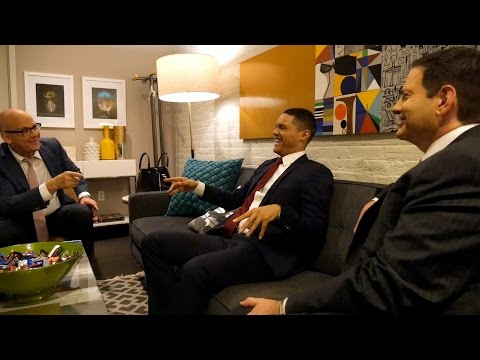 Download Youtube: Backstage With The Daily Show's Trevor Noah