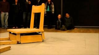 The Robotic Chair by Max Dean & Raffaello D'Andrea