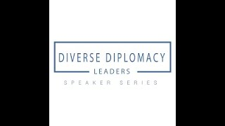 ISD Diverse Diplomacy Leaders series with Ambassador Dereck Hogan