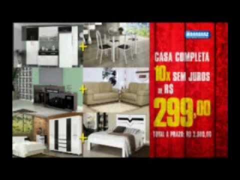 Lojas marabraz limpa estoque casa completa marabraz for Amueblar casa completa
