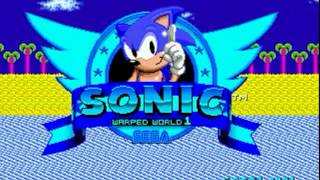 Sonic 1 - Warped World [Sonic Hacking Contest 2016 Version] (Genesis) - Longplay