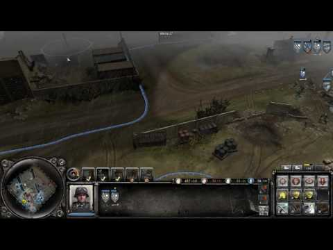 Company of Heroes 2 - Port of Hamburg 2v2