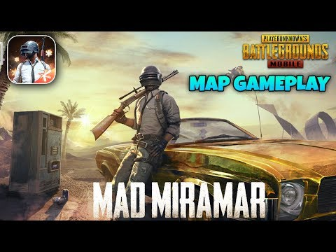 PUBG Mobile Mad Miramar Gameplay (New Map Update)