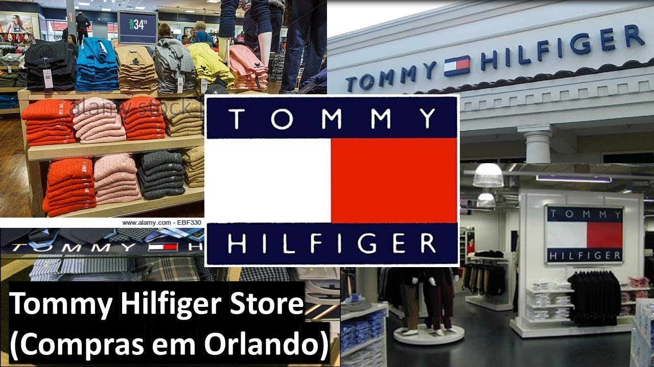 bdee685a5 Tommy Store - Compras em Orlando - YouTube