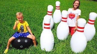 Kegiatan Permainan Luar Ruang Vlad dan Nikita untuk anak anak