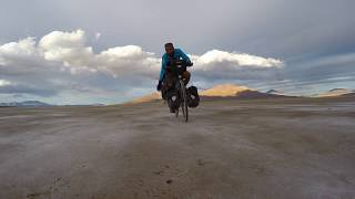 Premiers kilomètres en Bolivie - Salar de Chiguana
