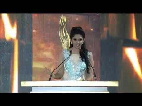 Vanitha Film Awards 2015 Part 11 Prity Girl Shriya Saran on the Stage
