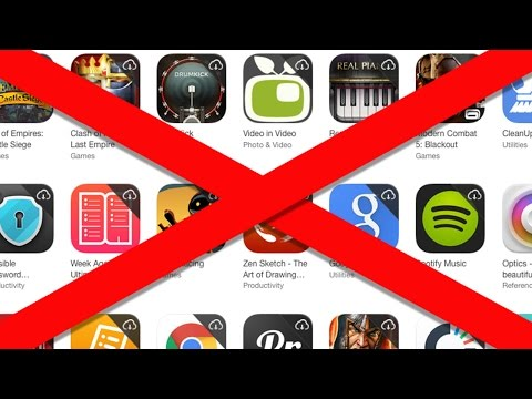 Como ocultar eliminar las compras de apps en iPhone iPod iPad Apple Store iTunes Store