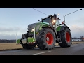 NATURE GREEN Fendt 828s4 & 939s4 with AGRIbumper, tractorbumper, unterfahrschutz in SNOW