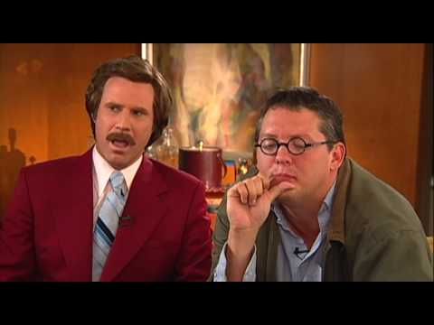 Anchorman: Will Ferrell and Adam McKay Funny Exclusive Movie ...