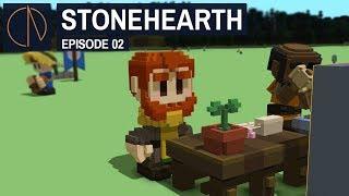 Stonehearth: Alpha 24   HARD WORK (#2)