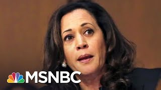 Sen. Kamala Harris Reacts To Scolding By GOP Senators | The 11th Hour | MSNBC