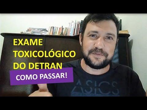 Видео Exame toxicológico