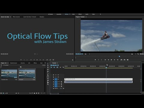Optical Flow tips in Premiere Pro CC 2015.1