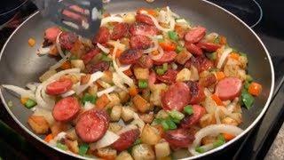 How to make Potatoes N Sausage