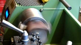 WARCO LATHE Shop made quick change tool post part 1