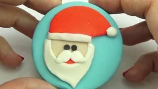 Пластилин для Детей. Делаем новогодние игрушки из Плей-до. Игрушкин ТВ