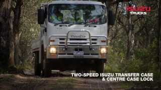 Isuzu F Series Off Road Range: No Road, No Worries - Isuzu Australia Limited