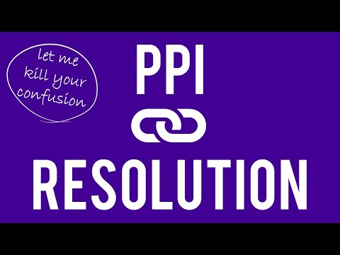 BE SURE on PPI vs Resolution - General Tip | Graphic Design Tutorial thumbnail