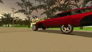 ball dastroys car gif