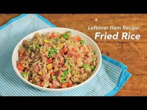 Leftover Ham Recipe: Fried Rice | Yummy Ph