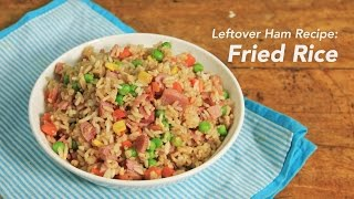 Leftover Ham Recipe: Fried Rice | Yummy Ph