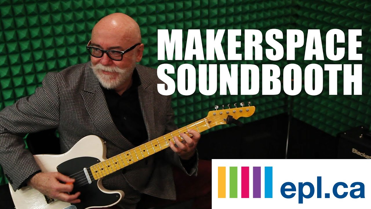 The Makerspace Soundbooth