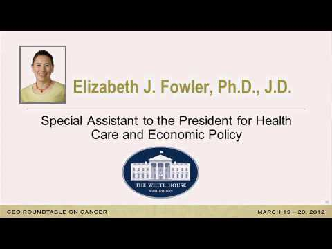 Remarks by Elizabeth Fowler - Special Assistant to the President for Health Care and Economic Policy