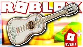 HOW TO GET ERNESTO DE LA CRUZ'S GUITAR!! (ROBLOX COCO EVENT - Meepcity Racing)