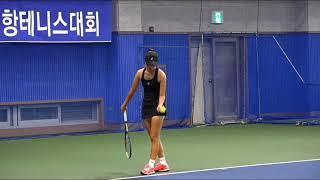 강나현선수 베스트 플레이 모음/한국주니어 랭킹 4위, …