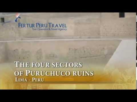 The four sectors of Puruchuco ruins - Inca Historical Tour