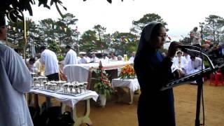 Đức Mẹ Măng Đen: Hát bộ lễ tiếng Dân Tộc Tây Nguyên và bài đọc, đáp ca