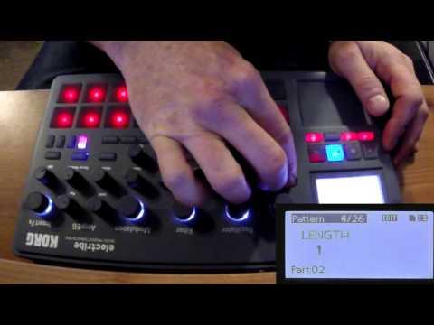 Korg Electribe 2 Programming Techno from scratch